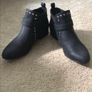 Restricted Leather Booties